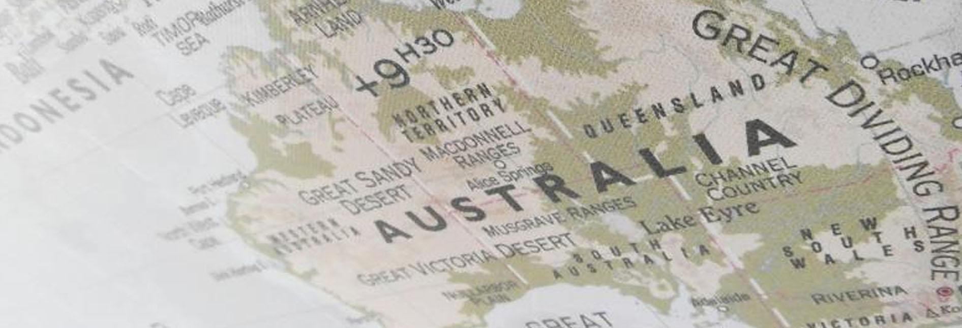 geografia da australia
