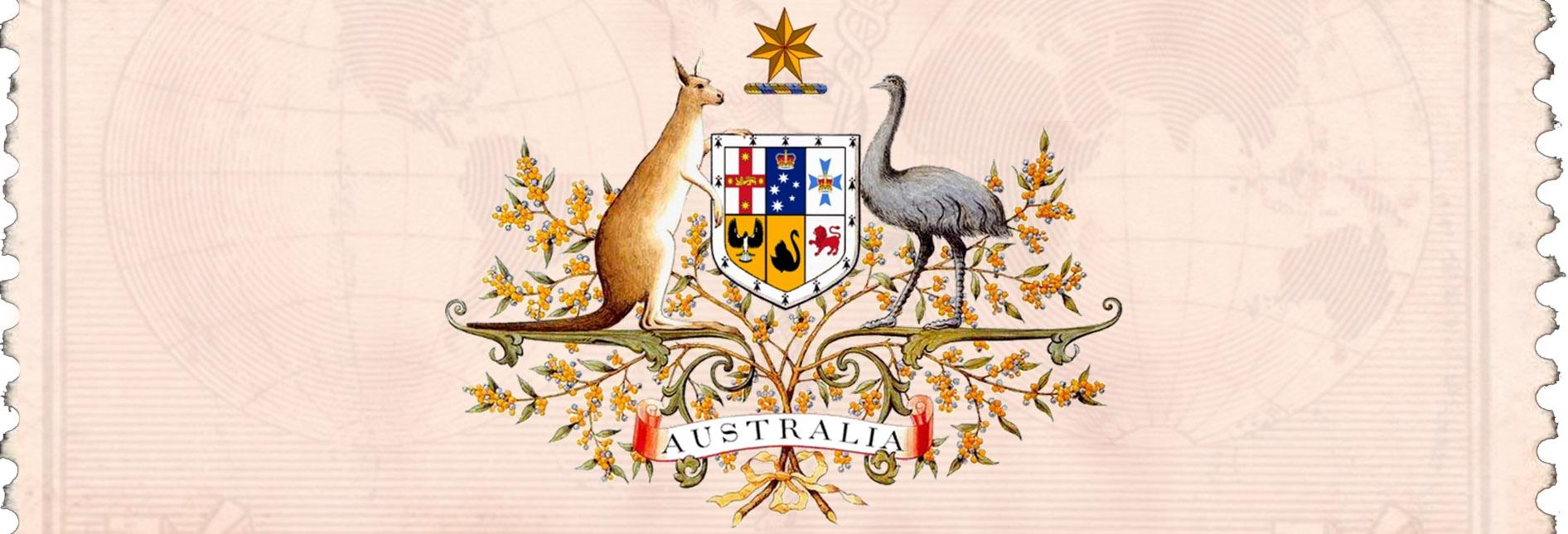 SIMBULOS DA AUSTRALIA